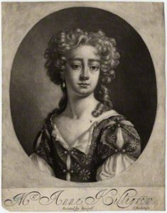 by Isaac Beckett, after Anne Killigrew, mezzotint, circa 1683-1688